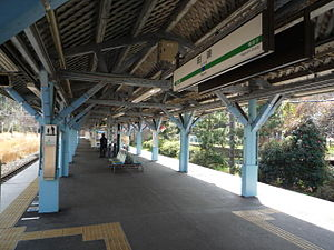 JREast-Yokosuka-line-Taura-station 2010-03-17 part1.JPG