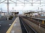 JRW-MukōmachiStation-Platform.jpg
