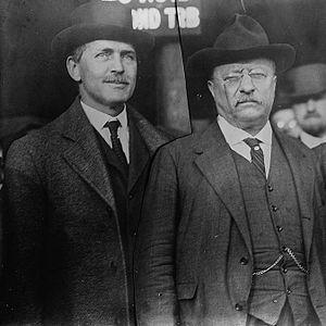 James Rudolph Garfield - Garfield with Theodore Roosevelt
