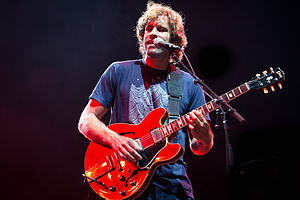 Jack Johnson (musician) - Johnson performing as a headliner at Bonnaroo on June 15, 2013