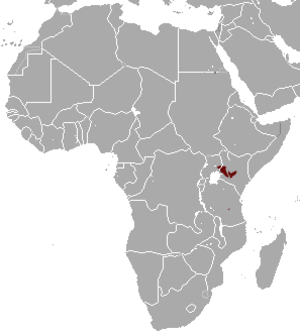 Jackson's mongoose - Image: Jackson's Mongoose area
