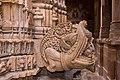 Jaisalmer-10-Shikhara of Jain temple of Aranath-Makara-20131010.jpg