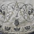 Jaktväska av sämskat skinn, broderad med silver-, guld- och silketråd - Skoklosters slott - 25146.tif