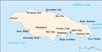 Мапа ямайки