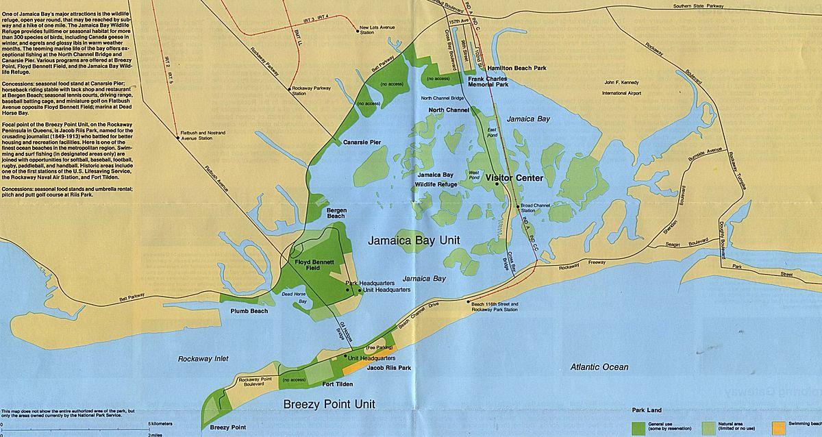 Jamaica Bay Wikipedia - Jamaica cities map