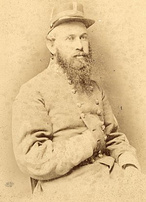 James Henry Lane (Confederate general) - James Henry Lane in Confederate general uniform; photo taken in 1865