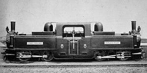 The Spooners of Porthmadog - Fairlie locomotive James Spooner 1887