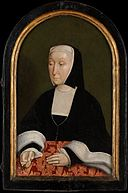 Jan (1438–1516), First Count of Egmond; Countess of Egmond (Magdalena van Werdenburg, 1464–1538) MET DP155714.jpg
