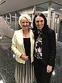 Jan Beagle with New Zealand PM Jacinda Ardern 09.23.18 (33545442568).jpg