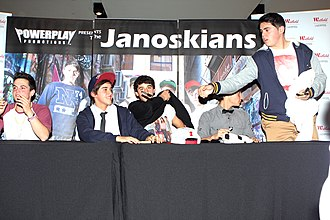 The Janoskians - Image: Janoskians