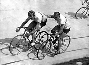 Janus Braspennincx - Janus Braspennincx (left) with Jan Pijnenburg