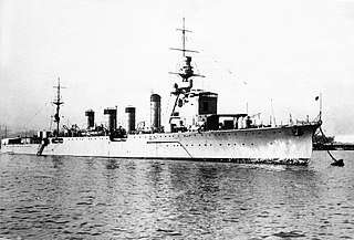 Japanese cruiser <i>Naka</i> Sendai-class light cruiser