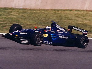 Jarno Trulli - Trulli driving for Prost at the 1999 Canadian Grand Prix