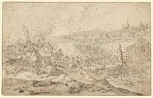 Jasper Broers - Cavalry battle