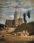 Corot: Chartres
