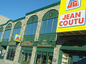 Jean Coutu Group - A Jean Coutu pharmacy in Shediac, New Brunswick.