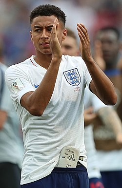 image illustrative de l'article Jesse Lingard
