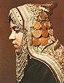 Jewish girl wearing Gargush, early 20th century.jpg