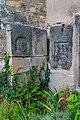 Jezbořice - Kostel svatého Václava 06 náhrobní kameny.jpg