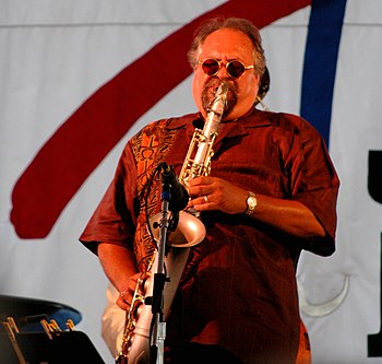 Joe Lovano, Newport Jazz Festival, 7/14/05