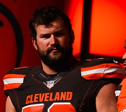 Joe Thomas Cleveland Browns New Uniform Unveiling (16968332879).jpg