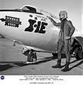 Joe Walker in pressure suit with X-1E (5134456651).jpg