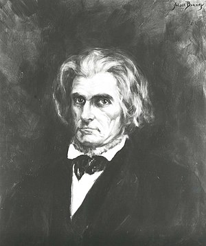 John C. Calhoun -  John C. Calhoun, during his tenure as Secretary of State (April 1844 – March 1845)
