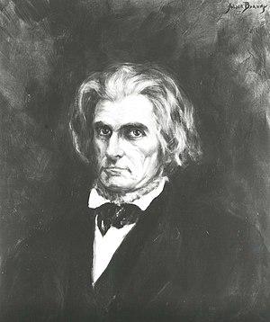 John C. Calhoun -  John C. Calhoun, during his tenure as Secretary of State (April 1844 – March 1845)
