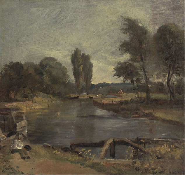 File:John Constable - Flatford Lock - Google Art Project.jpg