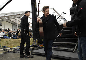 "Heartland rock - John Mellencamp, shown in 2007, among the most successful of the ""second generation"" of acts in the genre"