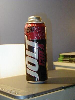 "Jolt Cola - A ""battery bottle"""