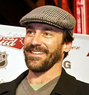 English: Actor Jon Hamm on the red carpet at t...