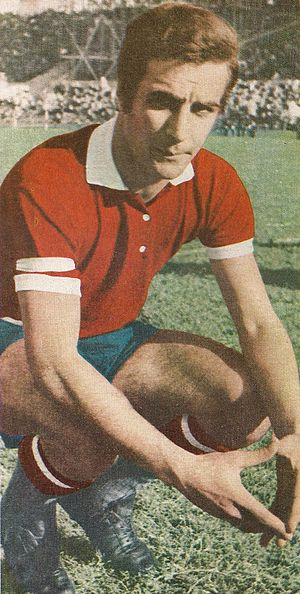 José Omar Pastoriza - Pastoriza in 1972, playing for Independiente.