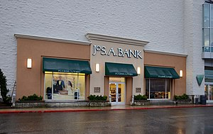 JoS. A. Bank Clothiers - Jos. A. Bank store at a shopping mall in Portland, Oregon, in 2017