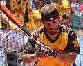 Jose Altuve takes batting practice on Gatorade All-Star Workout Day. (28555477392).jpg
