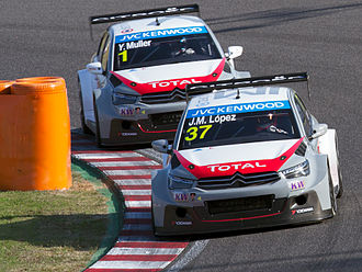 Citroën World Touring Car Team - Citroën's drivers got a 1-2-3 positions at the 2014 WTCC drivers championship, with 17 wins out of 23 races (74% of victories).