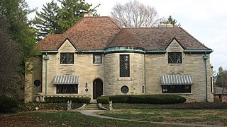 Joseph J. Cole Jr. House and 1925 Cole Brouette No. 70611 building in Indiana, United States