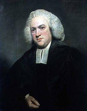 Joseph Warton - Portrait (1777), oil on canvas, of Joseph Warton (1722–1800) by Sir Joshua Reynolds (1723–1792)