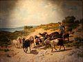 Jourdan-Chevrière conduisant son troupeau.jpg