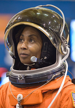 Stephanie Wilson - Wilson participates in a training session in the Space Vehicle Mock-up Facility at NASA's Johnson Space Center