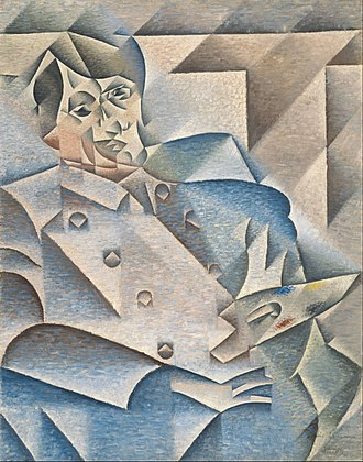 Juan Gris - Portrait of Picasso, 1912, oil on canvas, the Art Institute of Chicago