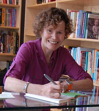 Judy Blume - Blume at a book signing in 2009