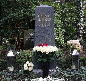 Harald Juhnke - Tomb of Juhnke in Berlin
