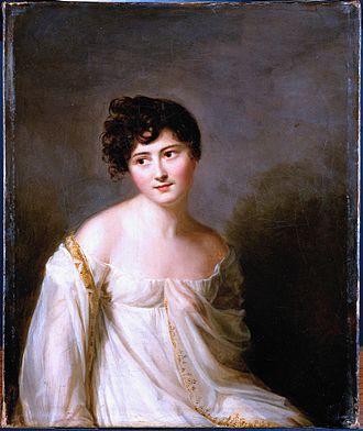 Juliette Récamier - Image: Juliette Récamier, par Firmin Massot, 1807