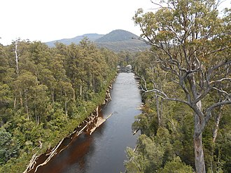 Protected areas of Tasmania - Image: Junction of Huon and Picton River panoramio