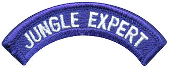 Badges of the United States Army - Image: Jungle Expert Tab