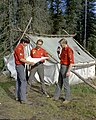 Junior Forest Wardens orienteering, Blue Lake, Alberta (29302776482).jpg
