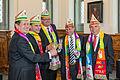 Kölner Dreigestirn - Vertragsunterzeichnung Sessionsvertrag und Rathausempfang 2014-1474.jpg