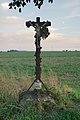 Kříž severně od obce u silnice na Lhotu, Brodek u Konice, okres Prostějov.jpg