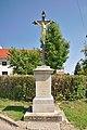 Kříž ve východní části obce, Pustiměř, okres Vyškov.jpg